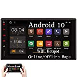 Android 10.0 Double 2 Din Car Stereo Bluetooth Car...