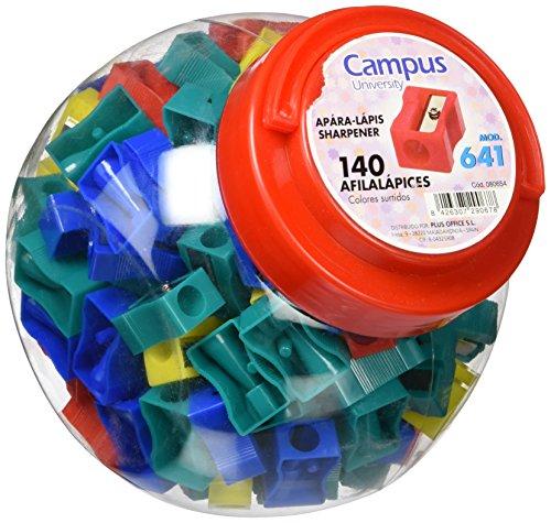 Campus University X02–1/080654temperino in plastica, 140pezzi