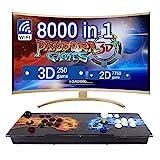 LEONARCADE Pandora Box 8000 Giochi in 1 3D WiFi Retrogame Arcade Console Mercato Integrato Supporta 4 Giocatori Uscita HDMI VGA USB