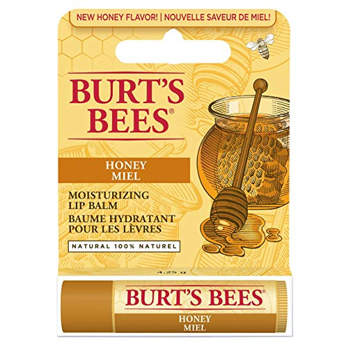 Burt's Bees 100 Prozent Natürlicher getönter Lippenbalsam, Honig mit Bienenwachs, 1 Stift - 3