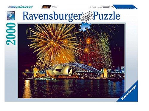 Ravensburger Puzzle 2000 Pezzi, Fuochi d'Artificio a Sydney, Collezione Foto e Paesaggi, Jigsaw Puzzle per Adulti, Puzzles Ravensburger - Stampa di Alta Qualità, Dimensione Puzzle: 98x75cm