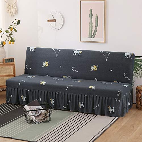 NOBCE Funda de sofá Funda de sofá elástica Funda de sofá elástica Funda de sofá seccional Proteger el sofá 120-150CM
