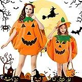 yumcute Costume de citrouille d'Halloween pour enfants, déguisement pour fête...