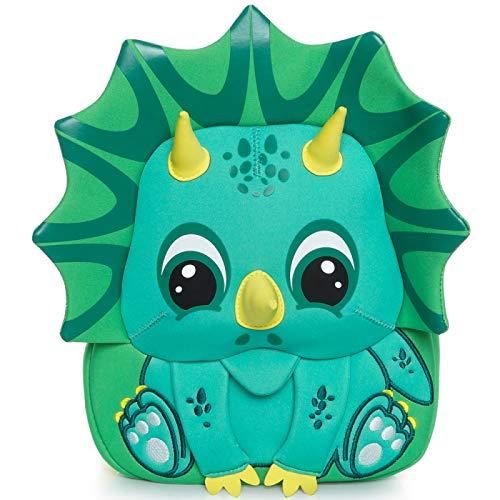 YYZZ Mochila de Dibujos Animados, Mochila de Animales de jardín de Infantes con diseño de Dinosaurio de Dibujos Animados en 3D Mochila Escolar