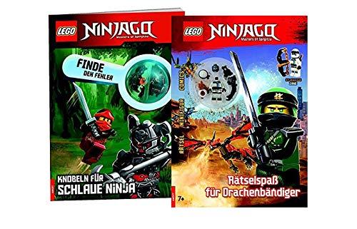 Lego Ninjago Encuentra el error, golpear para ninja inteligente y divertirte para los comandantes de dragón.