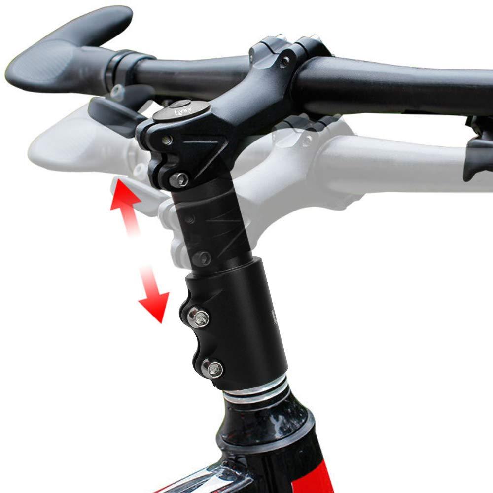 LERWAY MTB Vástago Elevador de Manillar para Bicicleta Adaptador ...