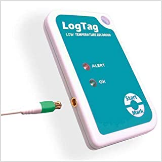 LogTag TREL-8 Dry Ice Temperature Data Recorder w/ ST10S-30 3.0M Remote Probe (See Item VAC-TRED30-KIT-2 for VFC Vaccine Monitoring kit)
