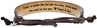 Swanky Badger New Personalized Bracelet – Leather, Sliding Knot