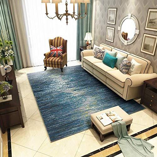 HNFJC Teppich Teppiche Für Wohnzimmer Wohnkultur Schlafzimmer Teppich Sofa Couchtisch Teppich Studie Bodenmatte Europa Teppiche Matten, MS, 06,240x340 cm