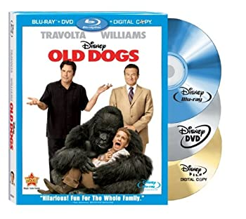 Old Dogs  Three-Disc Blu-ray Combo Pack w/ DVD + Digital Copy