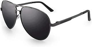 Men's Military Sunglasses Polarized 64mm Al-Mg Temple for Fishing