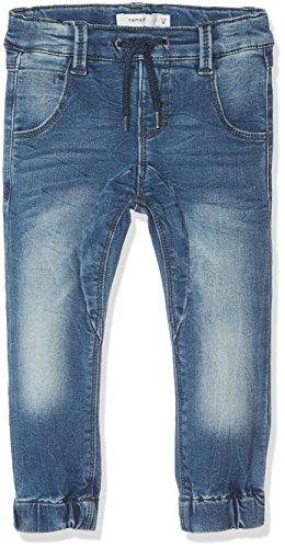 Name It Nittonny Slim/XSL DNM Pant Mini Noos Jeans, Gris (Medium Blue Denim), 80 Bébé garçon