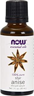 Now Essential Oils, Anise Oil, Balancing Aromatherapy Scent, Steam Distilled, 100% Pure, Vegan, 1-Ounce