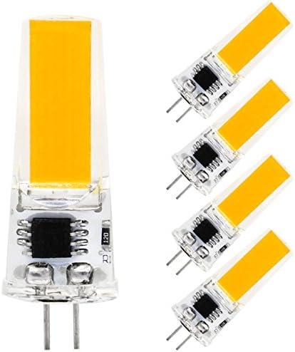 G4 LED Bulb Dimmable Warm White 2800 3200K 2W 180LM COB 2508 AC 100 120V Bi pin Base T3 Halogen product image