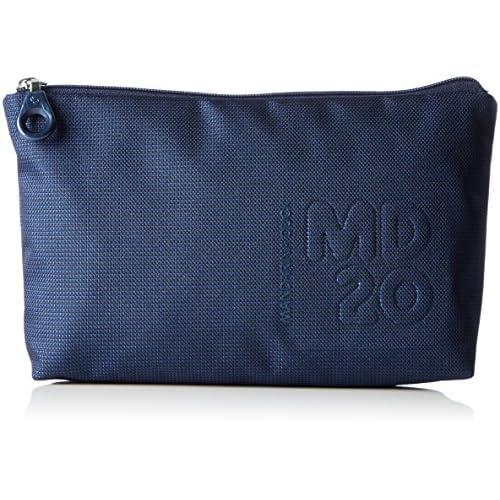 Mandarina Duck Md20 Minuteria, Pochette da Giorno Donna, Blu (Dress Blue), 3.5x15x24 centimeters (B x H x T)