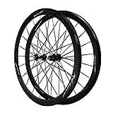 LBBL Ruedas Wheels, 700C Ruedas Bicicleta 7-12 Velocidad 44 Agujeros Llantas Aleación Liberación Rápida 29 Pulgadas Ligera Y Resistente A La Torsión (Color : C, Size : 27.5inch)