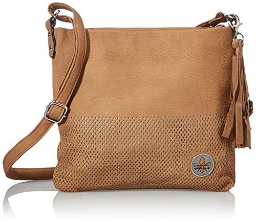 Rieker Damen H1342 Handtasche, braun, 260x50x270 cm (B x H x T)