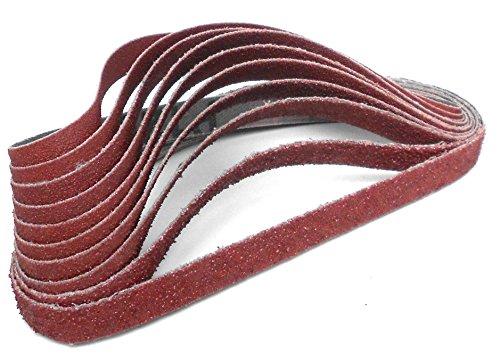 Preisvergleich Produktbild Klingspor CS 310 XF Schleifband / Feilenband / 10 x 330 mm / 10-teiliges Premium-Set / Je zwei Bänder der Körnungen 150, 180, 220, 240 und 280