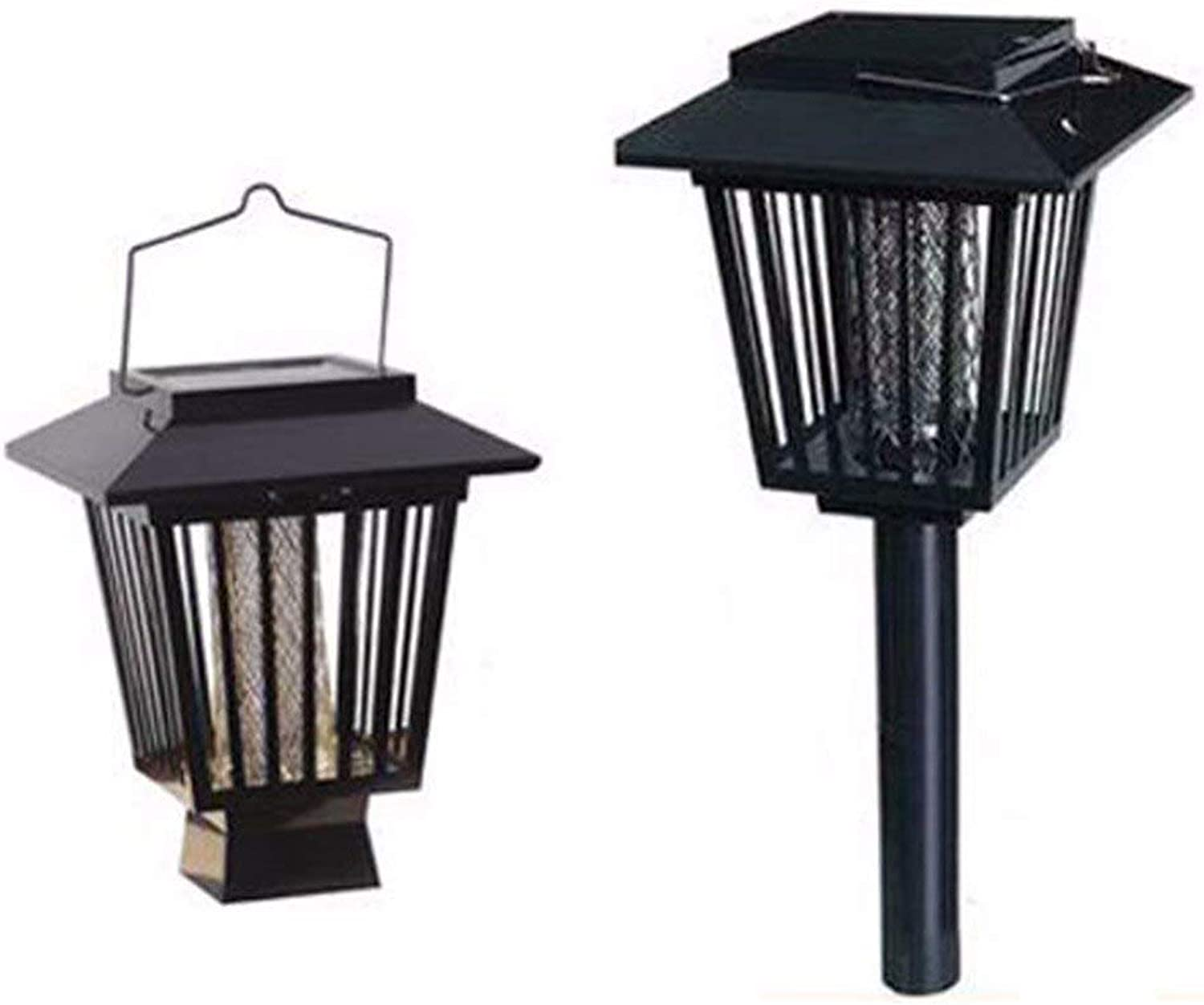 STOREHOMER  EcoFriendly LED Solar Powered Garden Outdoor Mosquito Insect Pest Bug Zapper Killer Pest Control by Modern Design