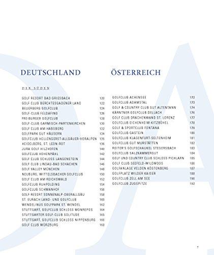 Die 100 besten Golfplätze in Deutschland und Österreich (Edition 99pages by HEEL) - 4