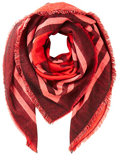 ONLY dames ONLANNE SQUARE WOVEN SCARF sjaal, rood (Chinese rood Chinese red), (fabrikantmaat: One Size)