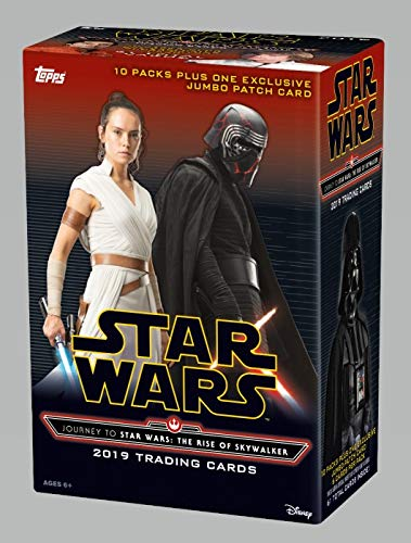 Topps 2019 Star Wars Journey to Episode IX Value Box