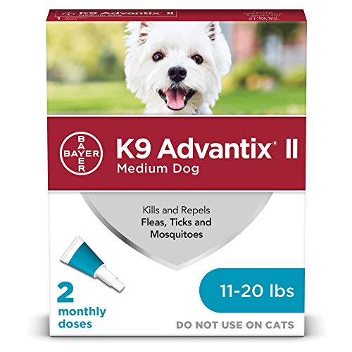 K9 Advantix II Flea and Tick Prevention for Medium Dogs 2Pack 1120 Pounds