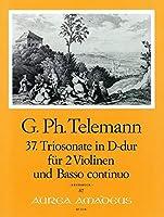 TELEMANN - Trio Sonata en Re Mayor (TWV:42/d13) para 2 Violines y Piano (Pauler/Hess)