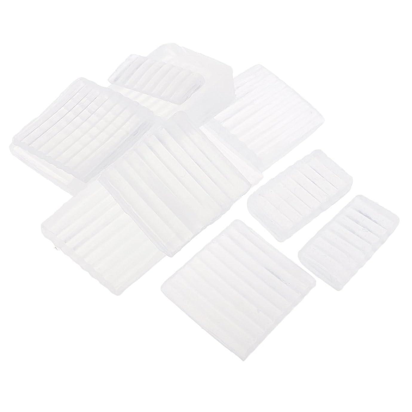 若者インチ精巧なSharplace 透明 石鹸ベース せっけん DIY 手作り 石鹸作り 材料 白い石鹸ベース