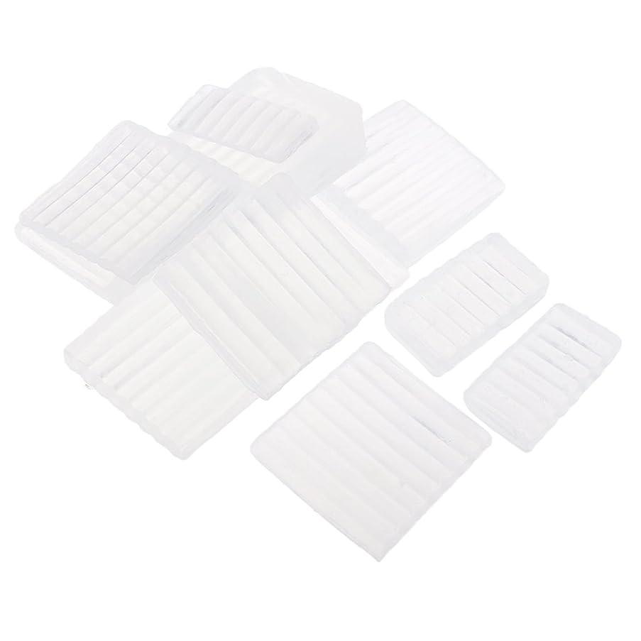 血まみれメッシュ何かFenteer ホワイト 透明 石鹸ベース DIY 手作り 石鹸 材料 約500g