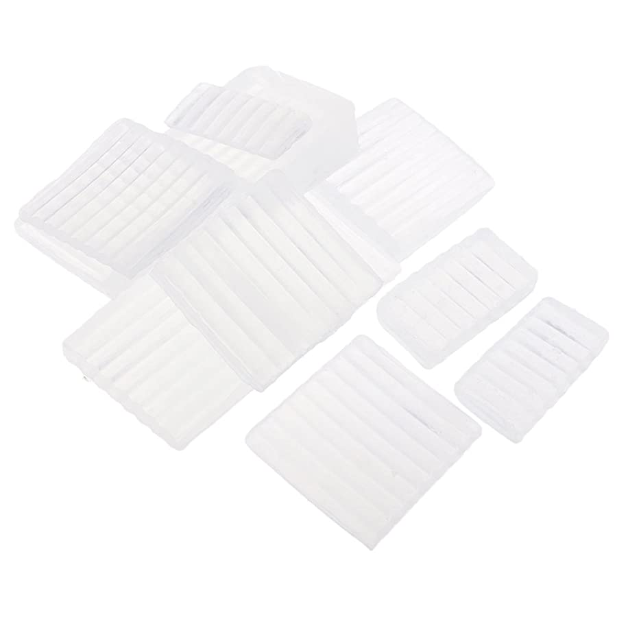 合金ベルベット新聞Fenteer ホワイト 透明 石鹸ベース DIY 手作り 石鹸 材料 約500g