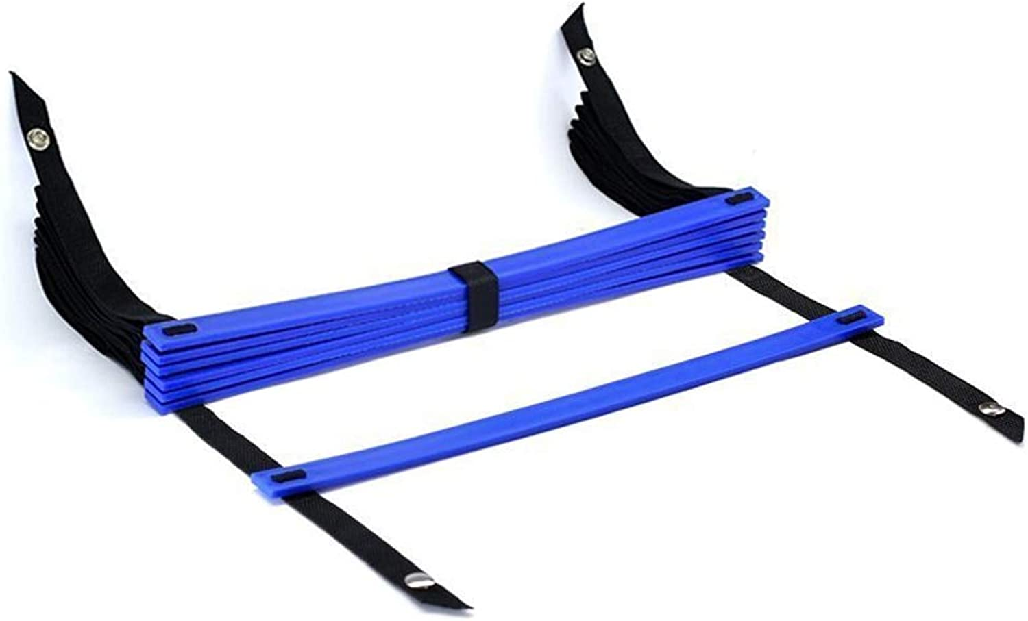 10 Feet Agility Ladder Soccer Training Quick 7 Flat Rungblueee