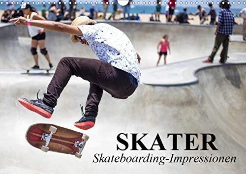 Skater. Skateboarding-Impressionen (Wandkalender 2021 DIN A3 quer)