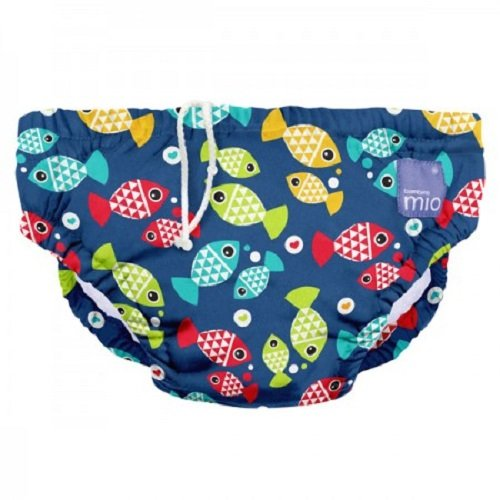 Bambino Mio Schwimmwindel SWPM AQ, Aquarium, M (6-12 Monate)