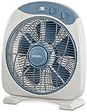 Howell HO. VEB341MQ Ventilatore Box Fan con Timer, 40 W, Silver/Blu