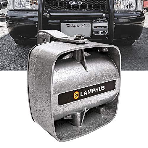 SoundAlert 100 W Compact Siren Speaker [120-130 dB] [IP66 Waterproof] [Universally Compatible] Air Horn Speaker for Emergency Police Fire Vehicles
