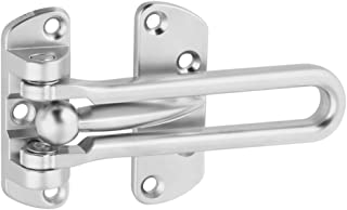 National Hardware N273-649 V804 Door Security Guard in Satin Chrome