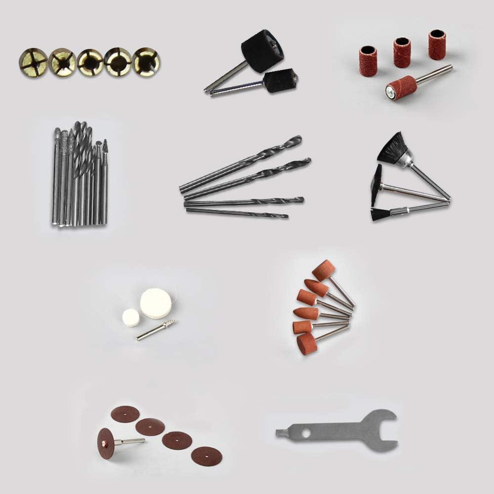Meuleuse multifonction pour bricoleurs et bricoleurs HENGMEI Kit de meuleuse dangle 180 pi/èces