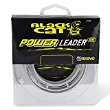 Black Cat Ø1,00mm Power Leader 20m 80kg,176lbs, Grün, 1,00 mm