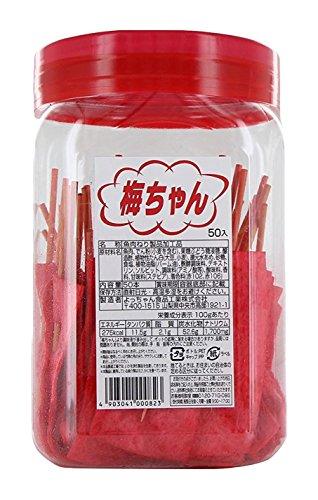 よっちゃん食品工業 よっちゃん 梅ちゃん50本入 [0823]