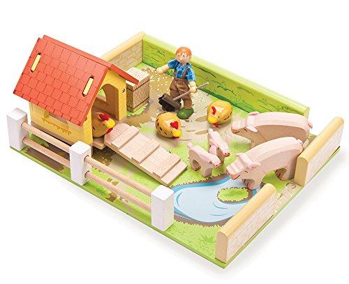 Le Toy Van Porc et Poule Lot de stylos avec Farm garçon Jimmy