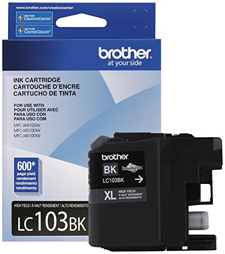 brother printer ink lc 103 - 5