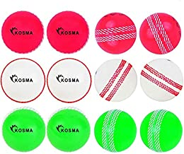 6-Ball Bundle Red or Pink Size 2 x Colour Cricket WonderBall Palle Sport Junior