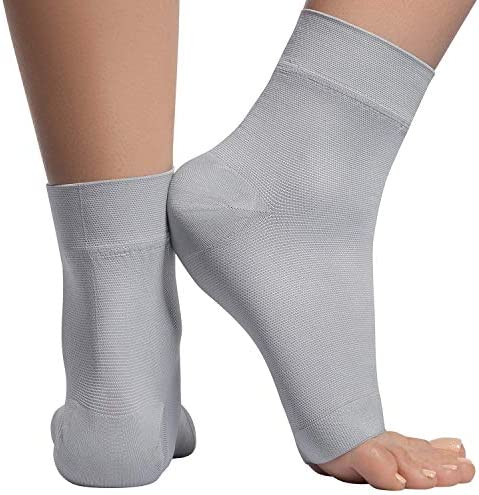 Ankle Compression Sleeve 20 30mmhg Open Toe ompression Socks for Swelling Plantar Fasciitis product image