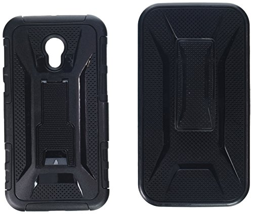 Asmyna Phone Case for Motorola Moto G 3rd Gen - Retail Packaging - Black