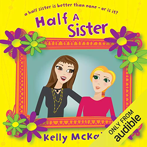 Half a Sister audiobook cover art