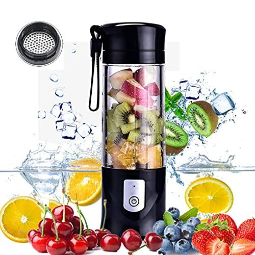 USB Electric Safety Juicer Cup, Fruit Juice mixer, Mini Portable Rechargeable /Juicing Mixing Crush...