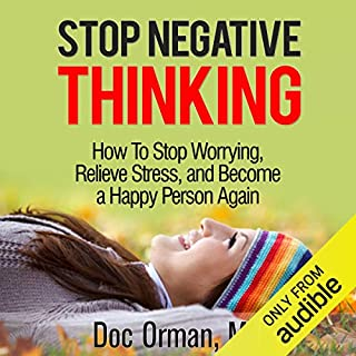 Stop Negative Thinking audiobook cover art