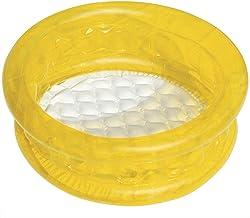CYYMY PVC Respetuoso con el Medio Ambiente Piscina Desmontable Autoportante Fast Set Antideslizantes y Bien Selladas Regalos para Niños,Beige
