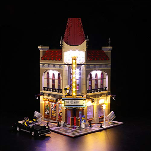 ADMLZQQ Led Lighting Kit for Lego Palacio de Cine - Compatible with Lego 10232 Building Blocks Model- Not Include The Lego Set